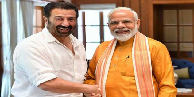 Sunny Deol has deep passion for a better India: Modi