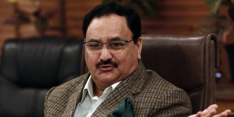 Congress is a Dynastic Party: BJP Working President JP Nadda