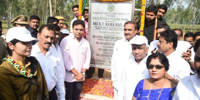KTR asks citizens to visit urban forest parks in Hyderabad  https://www.thehansindia.com/telangana/ktr-asks-citizens-to-visit-urban-forest-parks-in-hyderabad--552188