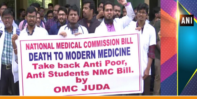 NMC Bill: Unhappy Odisha Doctors Threaten To Join Nationwide Stir