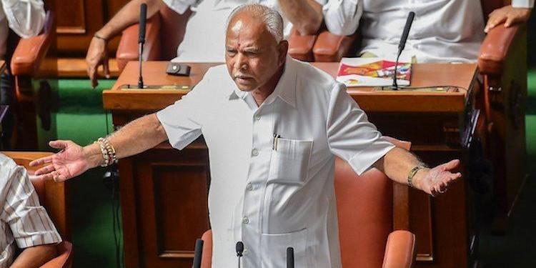 Karnataka CM's power position in danger