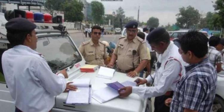 'ट्रैफिक नियम टूटने पर हीकागजों की जांच हो'