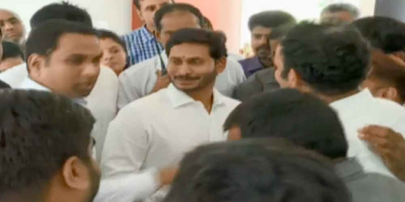 CM YS Jagan inaugurates YCP's new central office in Tadepalli