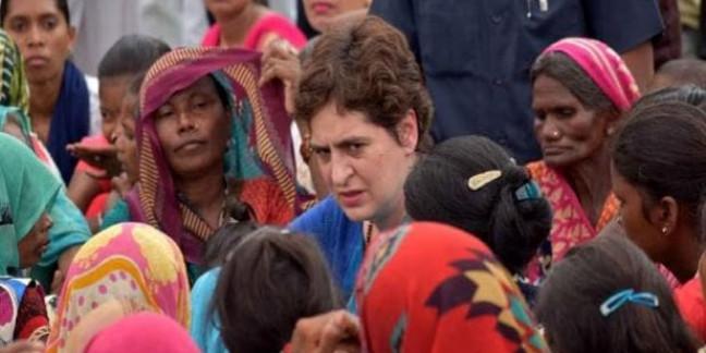 प्रियंका बोलीं- किसानों को परेशान कर रही है UP सरकार, धोखा है कर्जमाफी