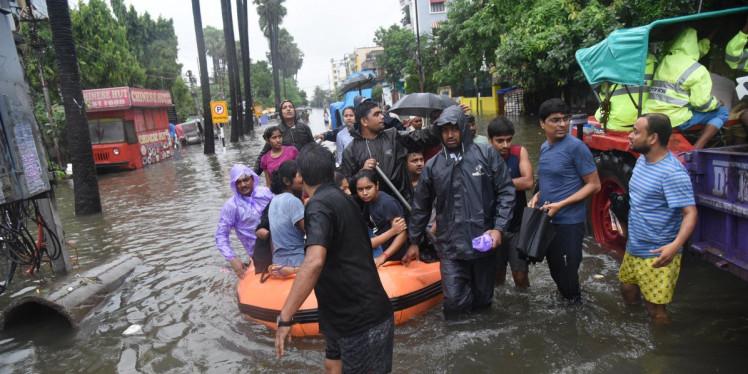 गृह मंत्रालय ने जारी की मानसून बारिश और बाढ़जनित घटनाओं में हुए नुकसान की सूची