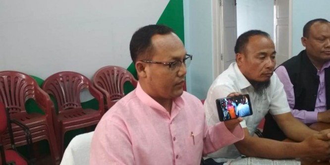 Manipur Congress accuses ruling BJP of violating political rights