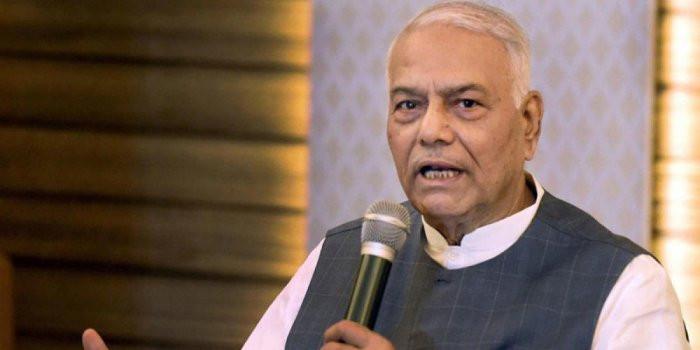 Yashwant Sinha Announces Plan To Visit Kashmir This Month