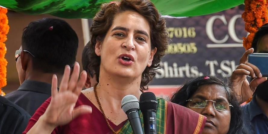 अनुदेशकों के मानदेय कटौती पर प्रियंका गांधी ने योगी सरकार को घेरा