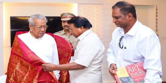 Cheating in the name of a job in Raj Bhavan, the Governor ordered an inquiry