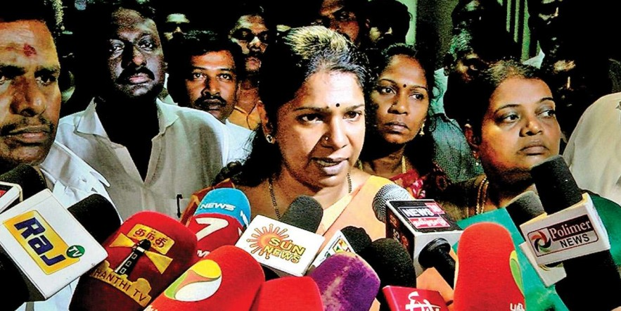 BJP can't stop me from winning polls with I-T raids: Kanimozhi