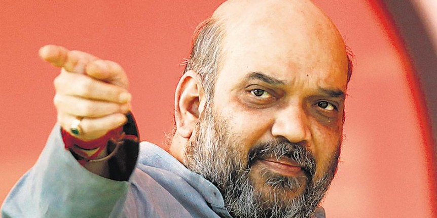 'BJP will breach 282 mark by large margin', says Amit Shah