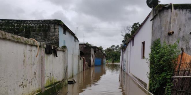 बाढ़ ने मचाई सुकमा में तबाही, मंत्री-विधायक ने किया हवाई सर्वे