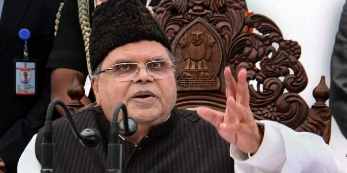 No infiltration of militants in Kashmir in 5 months: Governor Malik