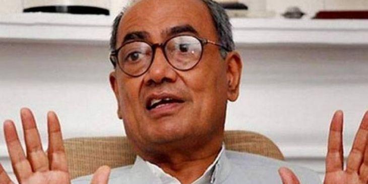 मसूद अजहर को वैश्विक आतंकी घोषित किया जाना कांग्रेस नेता दिग्विजय सिंह को नहीं आया रास, पीएम मोदी पर किया हमला