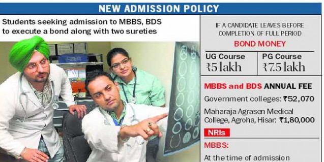 CM: MBBS students will not have to pay 'bond' amount at time of admission
