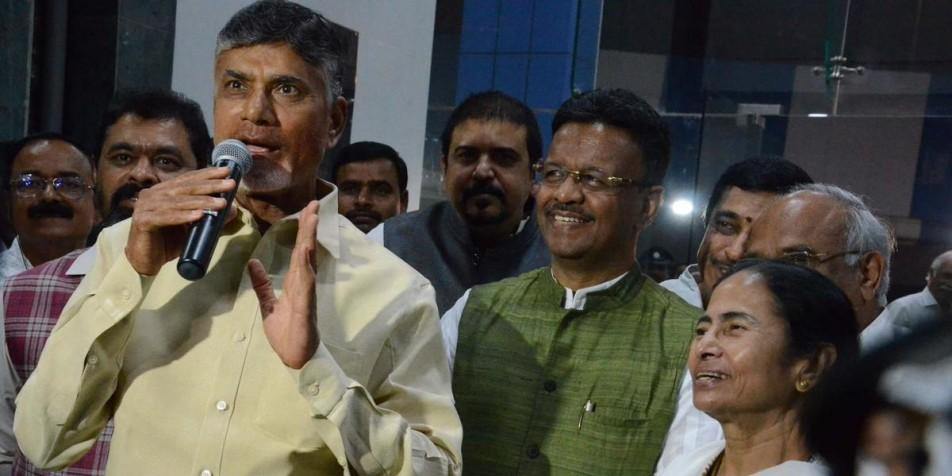'Under Mamata Banerjee's leadership, the country will get a new PM,' says Chandrababu Naidu