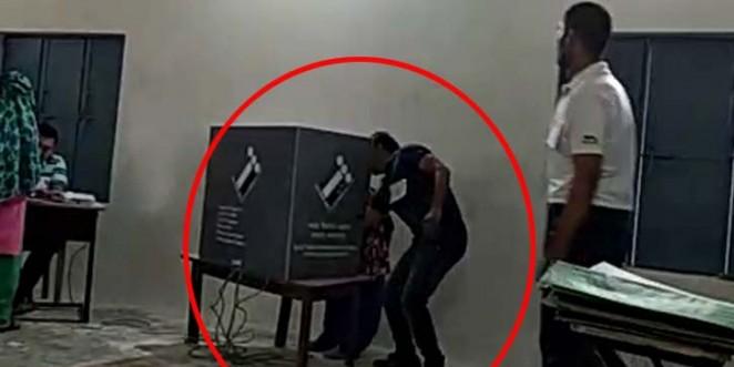 फरीदाबाद के असावटी में 19 मई को दोबारा मतदान, पोलिंग एजेंट की गड़बड़ी का वीडियो हुआ था वायरल