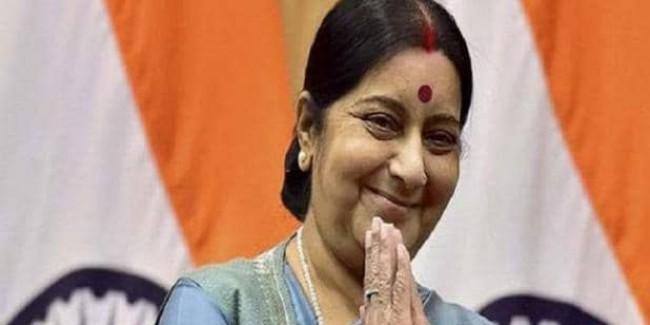 सुषमा स्वराज नहीं बनेंगी मोदी सरकार में मंत्री, दर्शक दीर्घा में बैठीं