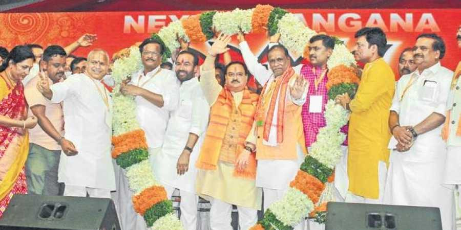 BJP to overthrow TRS government by 2023?